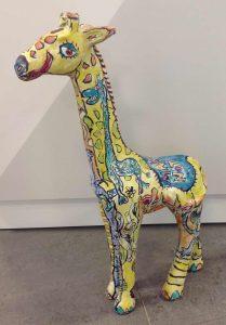 Twin Tower Giraffe